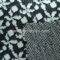 Jacquard interlock fabric blended of wool and polyester Manufactures