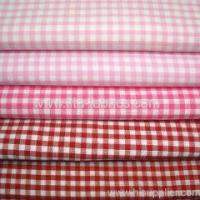 Quality 100%cotton yarn dye 1/8 apron check for sale