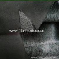 Rib Bonded with Poly Micro Plush Fleece Fabric Manufactures