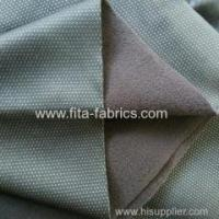 softshell fabric jacquard weave fabric bonded with micro fleece Manufactures