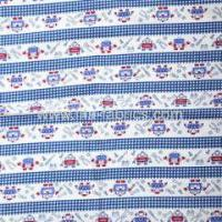 Buy cheap 100% cotton fabric poplin Transportation printed from wholesalers