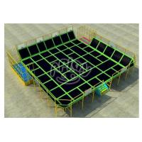 Outdoor Playground Large Indoor Trampoline with Foam Pit for Sale Manufactures