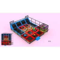 Outdoor Playground trampoline place Manufactures