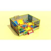 Outdoor Playground trampoline basketball Manufactures