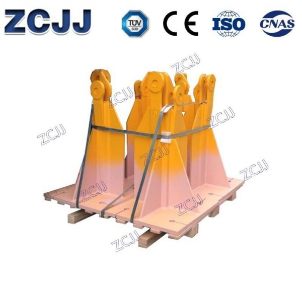 Quality Tower Crane Bases Fixing Angle Bases Fixing Angles For L68B2 Mast for sale