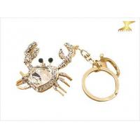 Buy cheap Factory direct sale Crab Keychain Wholesale Lovely Animal Luxury Car Keychain from wholesalers