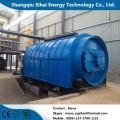 Quality Car tires extraction to fuel oil pyrolysis plant for sale