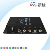 China Dual Antennas High Speed HD Car TV Tuner DVB-T2 MPEG-4 Digital TV Receiver Box on sale