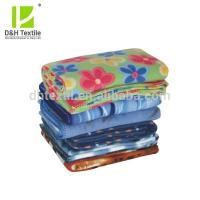 China High Quality 100% Polyester indian throw blankets on sale