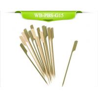 Buy cheap Green Bamboo Paddle Skewers from wholesalers
