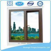 China Powder Coated Bronzed Aluminum Horizontal Window on sale