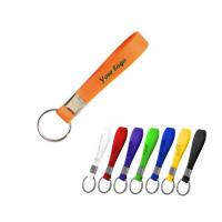 Colorful Silicone Bracelet Key Chain-ADWD5014 Manufactures