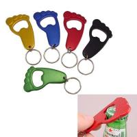 Aluminum Foot Bottle Opener With Keychain-ADWD5007 Manufactures