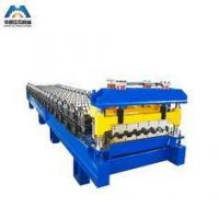 Color Steel Glazed Tile Roll Forming Machine Nigerian To Mexico Manufactures