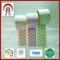 Buy cheap Automotive Custom Printed Adhesive Colorful BOPP Tape Jumbo Roll from wholesalers
