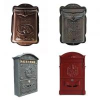 China Black Cast Iron Letter Box on sale
