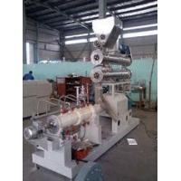 Buy cheap 3-5t/h fully automatic fish farm floating fish feed pellet extruder machine in Nigeria from wholesalers