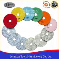 100mm White Marble Diamond Polishing Pads Cutting Blades Manufactures