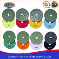 4 Inch Dry Diamond Polishing Pads Cutting Blades Manufactures