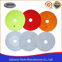 6 Inch White Wet Diamond Polishing Pad for Granite Cutting Blades Manufactures