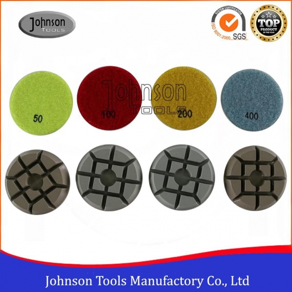 Quality 75-100mm Diamond Concrete Polishing Pads Cutting Blades for sale