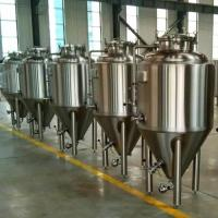 Buy cheap Restaurant beer preparation fermentor 3.7bbl mini brewery from wholesalers