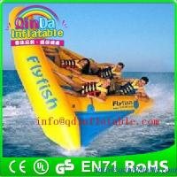 QinDa Inflatable banana boat flying fish boat for sale for sale