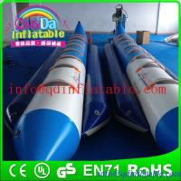 Guangzhou QinDa inflatable boat water game banana boat for saleair boat for fun for sale