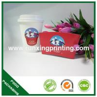 coffee cup with sleeve