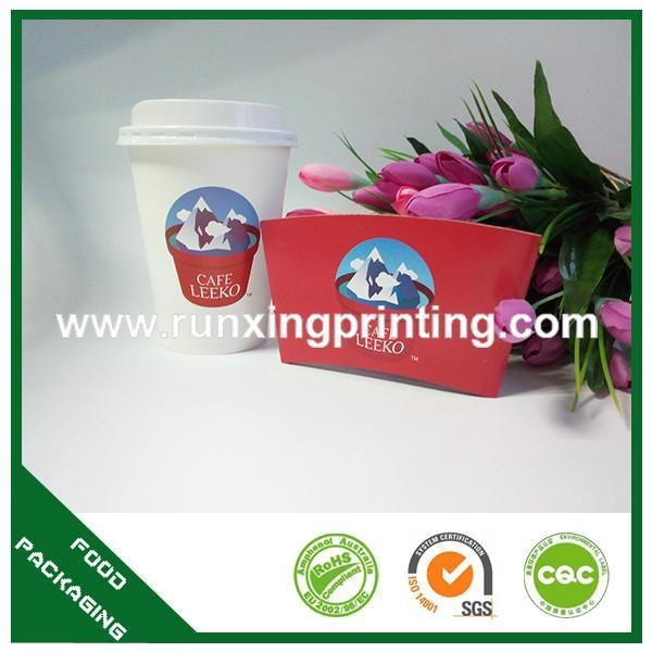 Quality coffee cup with sleeve for sale