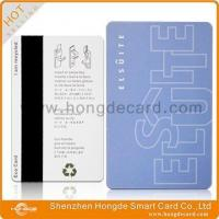 Magnetic Stripe Card Magnetic Hotel Key Card Manufactures
