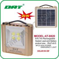 Solar Lighting System AT-8820 solar lighting system panel completely with product Manufactures