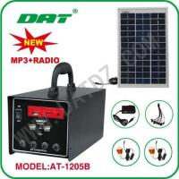 China Solar Lighting System AT-1205B solar home lighting system with radio on sale