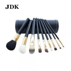 China 9pcs High Quality Professional Cosmetic Makeup Brush Set with Bucket