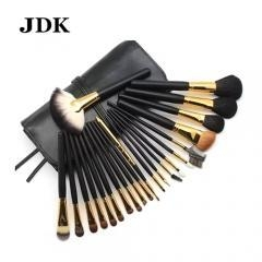 China 22pcs From Factory Professional Cosmetic Makeup Brush Set with Good PU Bag