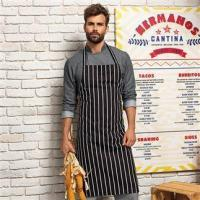 Quality Aprons & service PR110: Stripe apron for sale