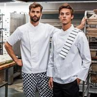 Chefswear PR669: Culinary pull-on chef's long sleeve tunic Manufactures