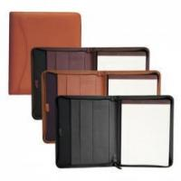 Promotional Business Gift Zippered Padfolio Manufactures
