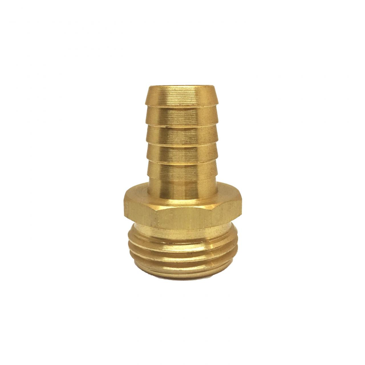 """Buy cheap 5/8"""" Brass Hose Barb with 3/4"""