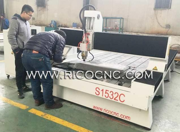 Quality Stonework CNC Router for Marble Granite Countertop Cutting S1532C for sale
