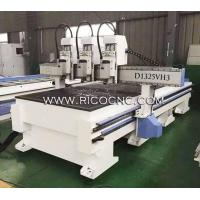 Independent 3 Heads CNC Wood Router Machine for Wood Cutting D1325VH3 Manufactures