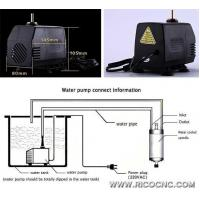 Small Electric Water Coolant Pump Kits for Water Cooling Spindle Manufactures