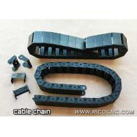 Cable E Chain Wire Drag Carrier Chain with Mounting Bracket End for CNC Machines Manufactures