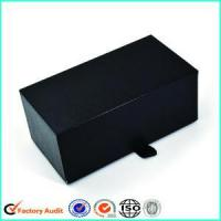 Buy cheap Black Cardboard Cufflink Tie Pin Gift Boxes from wholesalers