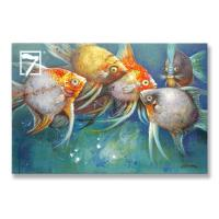 China Tropical Fish painting for home on sale