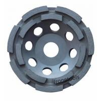 China Double Row Diamond Cup Grinding Wheels on sale