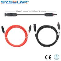 China MC4 extension cable connecting solar panels together on sale