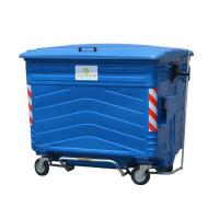 Buy cheap 1700L Hot Dip Galvanization steel garbage trash can from wholesalers
