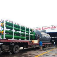 Quality Pyrolysis Plant Convert Waste Tire To Oil for sale