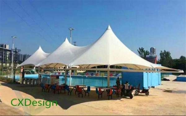 Quality Outdoor Wild Hotel Tent Metal Canopies for sale
